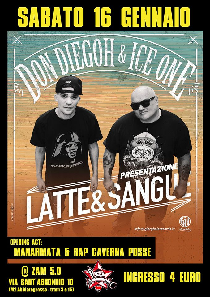 Don Diegoh & Ice One – Latte & Sangue