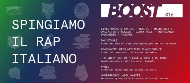 BOOST016 | Milano | 22 Maggio 2016