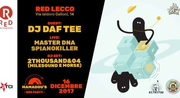 Dj Daf Tee – Mamadou's Red Party 5