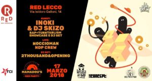 Inoki e Dj Skizo – Mamadou's Red Party 8