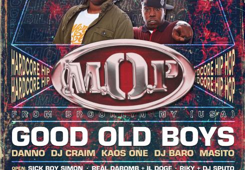 M.O.P. & Good Old Boys live a Cagliari – 13/04/2018