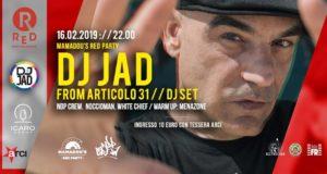 Dj Jad @ Mamadou's Red Party | 16 febbraio 2019